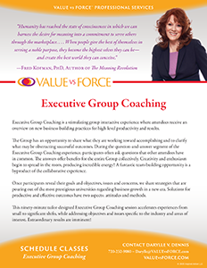 Darylle Dennis Executive Group Coaching